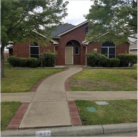 2611 Crosscreek Lane, Mesquite, TX 75181 (MLS #14519944) :: The Property Guys