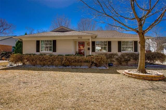 3726 La Joya Drive, Dallas, TX 75220 (MLS #14520100) :: The Kimberly Davis Group