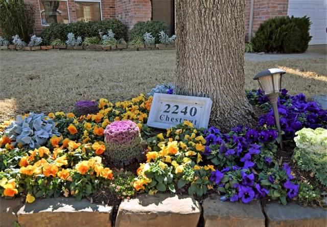 2240 Chestnut Drive, Little Elm, TX 75068 (MLS #14520102) :: The Good Home Team