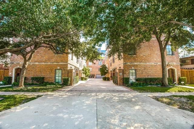 4330 Cole Avenue C, Dallas, TX 75205 (MLS #14520265) :: Keller Williams Realty