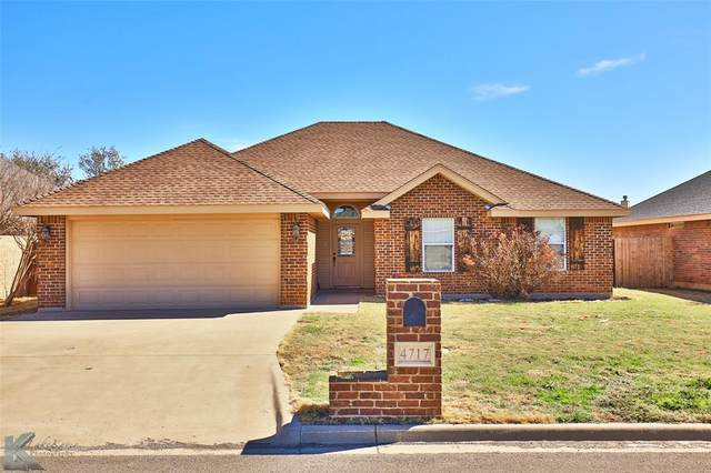 4717 Many Waters Drive, Abilene, TX 79602 (MLS #14520292) :: Robbins Real Estate Group