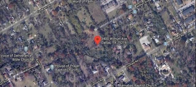 3400 Wilhurt Avenue, Dallas, TX 75216 (MLS #14520510) :: DFW Select Realty