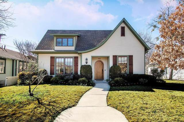 526 E Worth Street, Grapevine, TX 76051 (MLS #14520518) :: Team Tiller