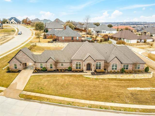 10704 Alta Sierra Drive, Benbrook, TX 76126 (MLS #14520933) :: The Kimberly Davis Group