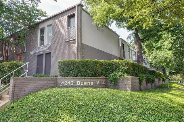 4242 Buena Vista Street #1, Dallas, TX 75205 (MLS #14521204) :: Robbins Real Estate Group