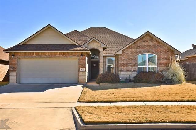 4725 Spring Creek Drive, Abilene, TX 79602 (MLS #14521314) :: ACR- ANN CARR REALTORS®