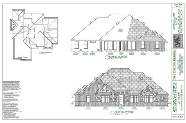 245 Agua Linda Drive, Godley, TX 76044 (MLS #14521602) :: Real Estate By Design