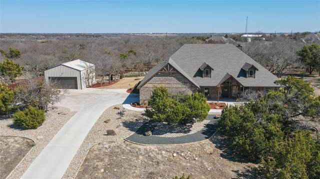 110 Woody Williams Court, Weatherford, TX 76088 (MLS #14521743) :: Team Hodnett