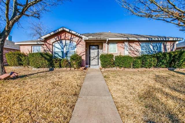 140 Palm Drive, Lancaster, TX 75146 (MLS #14521763) :: Keller Williams Realty