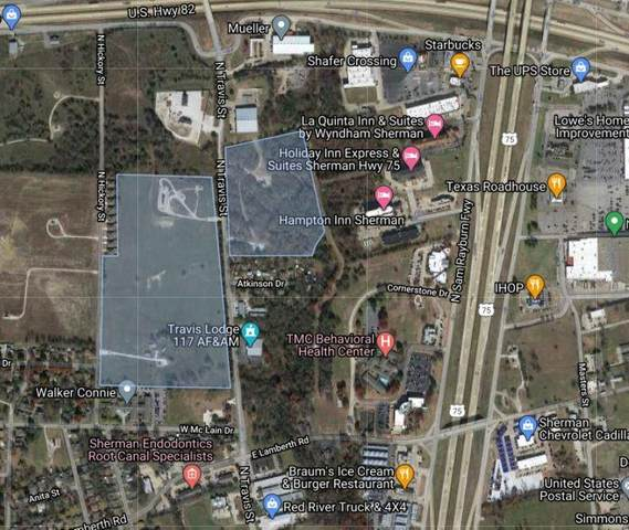 TBD Travis Street, Sherman, TX 75092 (MLS #14522240) :: Team Tiller