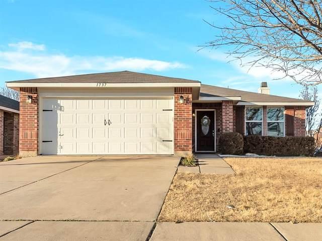 1737 Sierra Meadow Lane, Fort Worth, TX 76247 (MLS #14522260) :: The Kimberly Davis Group