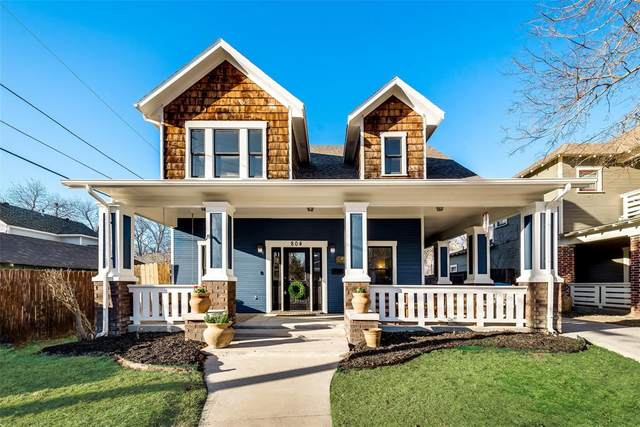804 W Baltimore Avenue, Fort Worth, TX 76110 (MLS #14522297) :: The Kimberly Davis Group
