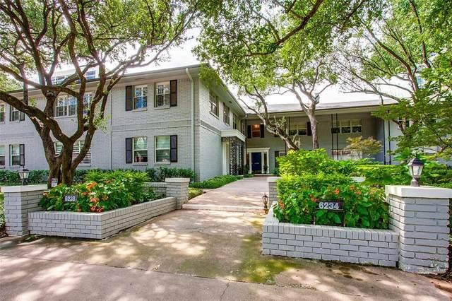 6234 Bandera Avenue 6234D, Dallas, TX 75225 (MLS #14522355) :: Robbins Real Estate Group
