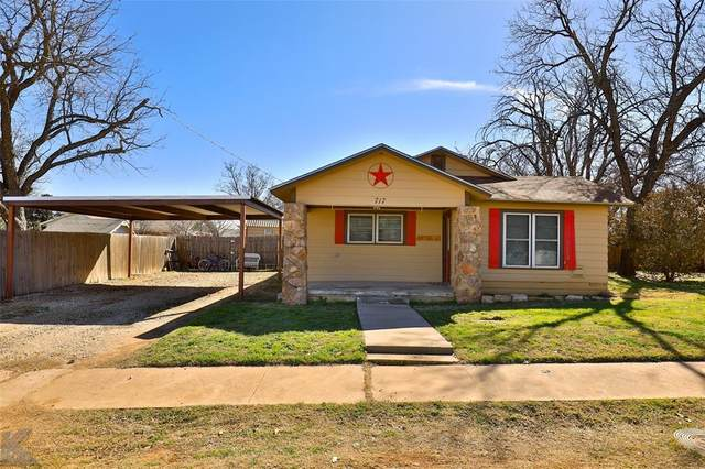 717 W 3rd Street, Baird, TX 79504 (MLS #14522460) :: The Kimberly Davis Group