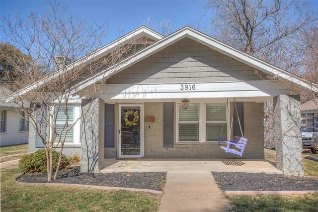 3916 Mattison Avenue, Fort Worth, TX 76107 (MLS #14522676) :: Jones-Papadopoulos & Co