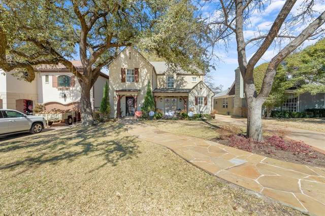 3728 Bellaire Drive N, Fort Worth, TX 76109 (MLS #14522694) :: The Chad Smith Team