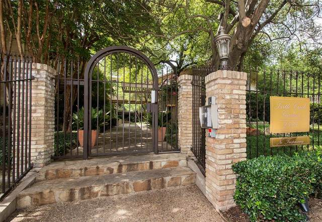 2525 Turtle Creek Boulevard #522, Dallas, TX 75219 (MLS #14522904) :: The Juli Black Team
