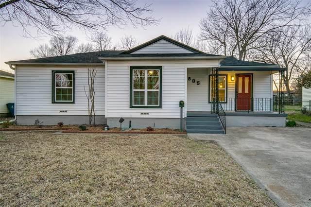 805 Sylvan Drive, Garland, TX 75040 (MLS #14523127) :: Team Hodnett