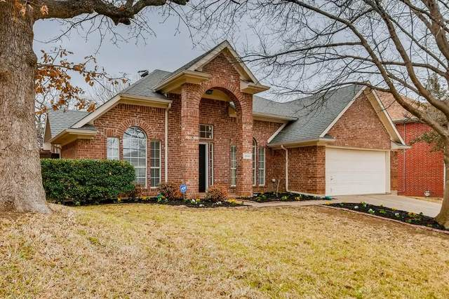 2861 Bluffview Drive, Lewisville, TX 75067 (MLS #14523180) :: Team Tiller