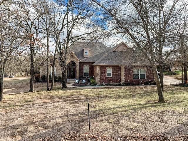 153 Overton Ridge Circle, Weatherford, TX 76088 (MLS #14523363) :: The Tierny Jordan Network