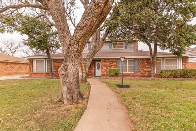 1418 Roanoak Drive, Abilene, TX 79603 (MLS #14523815) :: Robbins Real Estate Group