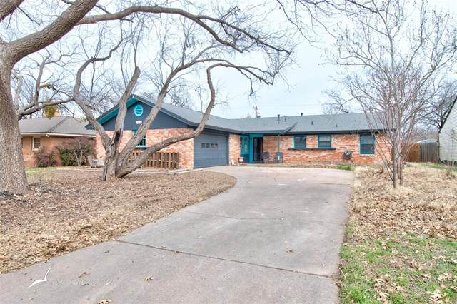 1469 Minter Lane, Abilene, TX 79603 (MLS #14523849) :: All Cities USA Realty