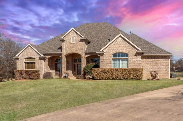 145 Ranch Creek Drive, Azle, TX 76020 (MLS #14523879) :: The Chad Smith Team