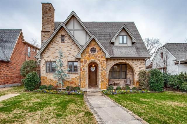 5134 Ridgedale Avenue, Dallas, TX 75206 (MLS #14524273) :: RE/MAX Landmark