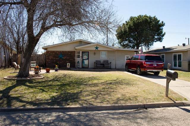 2725 Bennett Drive, Abilene, TX 79605 (MLS #14524300) :: Results Property Group