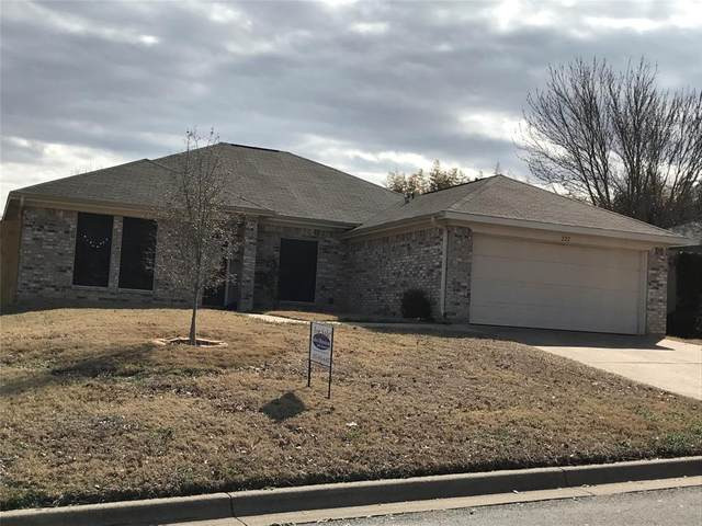222 Lancelot Drive, Weatherford, TX 76086 (MLS #14524526) :: Real Estate By Design