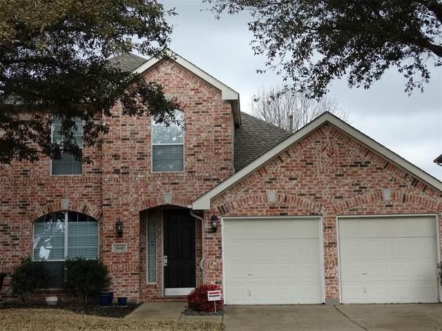 2440 Harbour Drive, Grand Prairie, TX 75054 (MLS #14524569) :: The Kimberly Davis Group