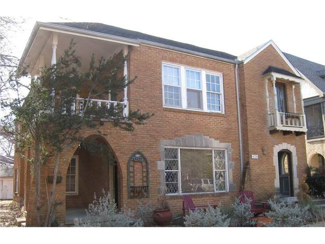 4137 Normandy Avenue, University Park, TX 75205 (#14524588) :: Homes By Lainie Real Estate Group