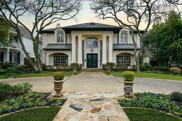 3709 Southwestern Boulevard, University Park, TX 75225 (MLS #14524891) :: The Property Guys