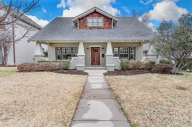 5204 El Campo, Fort Worth, TX 76107 (MLS #14525465) :: Team Hodnett