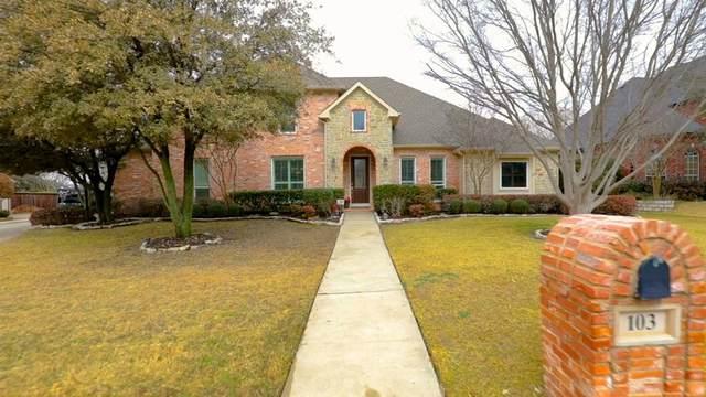 103 Woodglen Court, Southlake, TX 76092 (MLS #14526066) :: EXIT Realty Elite