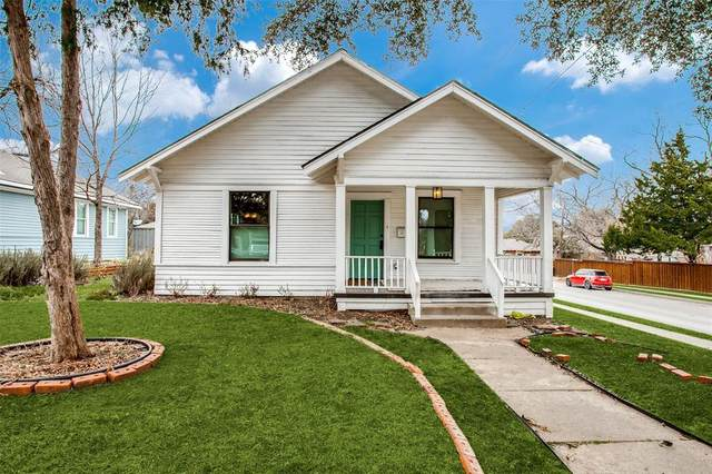 123 E 6th Street, Dallas, TX 75203 (MLS #14526169) :: All Cities USA Realty