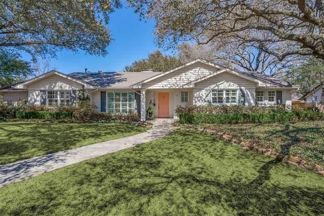 3817 Alta Vista Lane, Dallas, TX 75229 (MLS #14526256) :: The Kimberly Davis Group
