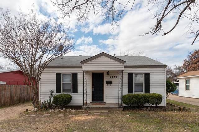 1729 Oakwood Street, Haltom City, TX 76117 (MLS #14526295) :: The Hornburg Real Estate Group