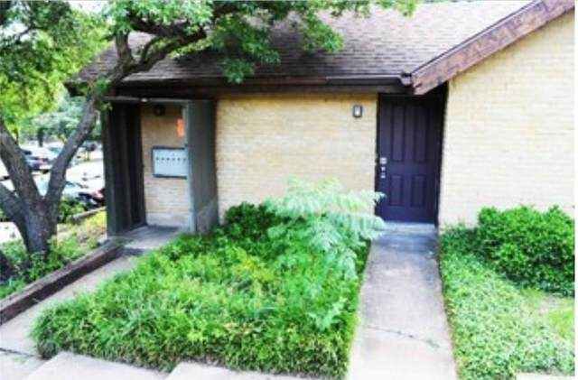 4630 Country Creek Drive #1214, Dallas, TX 75236 (MLS #14526613) :: Feller Realty