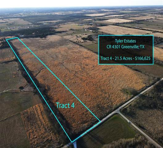 Tract 4 County Rd 4301, Greenville, TX 75401 (MLS #14526705) :: All Cities USA Realty