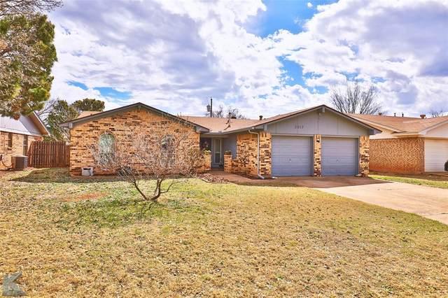3017 Post Oak Road, Abilene, TX 79606 (MLS #14526779) :: The Tierny Jordan Network