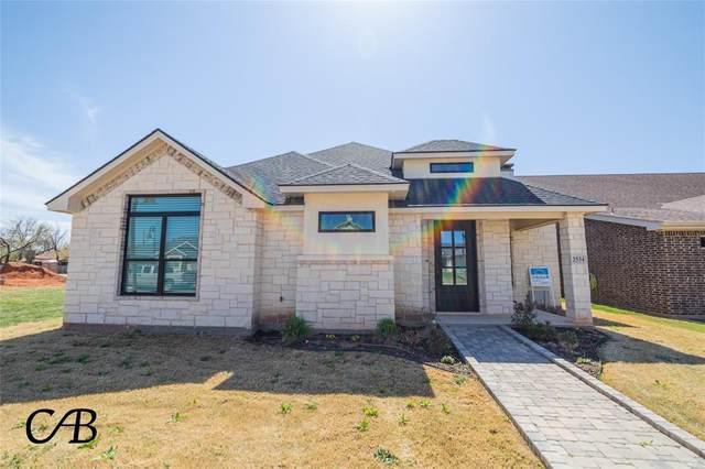 2534 John C Stevens Street, Abilene, TX 79601 (MLS #14527318) :: The Chad Smith Team