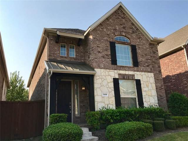 3408 Porter Creek Drive, Plano, TX 75025 (MLS #14527737) :: EXIT Realty Elite