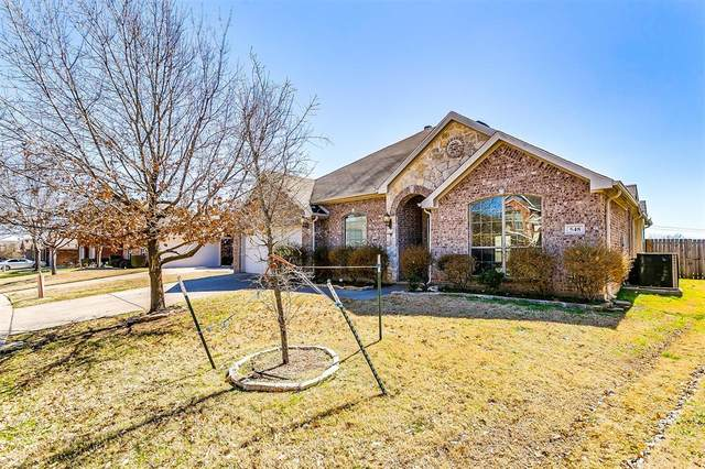 548 Riverbed Drive, Crowley, TX 76036 (MLS #14527763) :: The Tierny Jordan Network