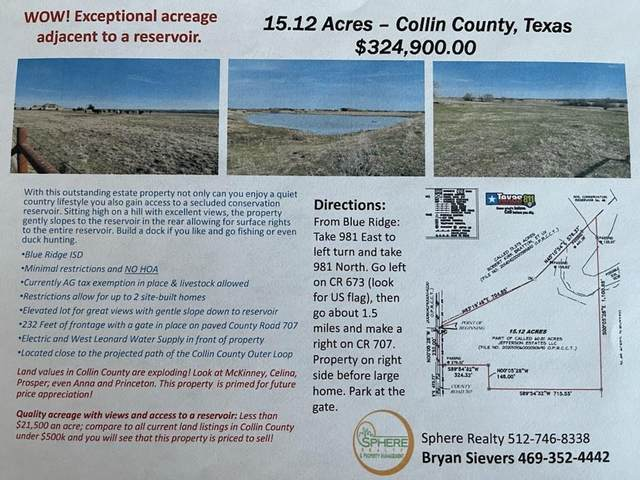 TBD Cr 707, Blue Ridge, TX 75424 (#14528125) :: Homes By Lainie Real Estate Group