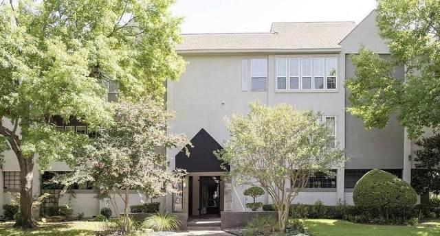 4104 N Hall Street #103, Dallas, TX 75219 (MLS #14528266) :: The Tierny Jordan Network