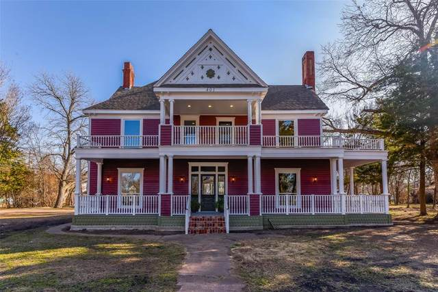 401 W Grand Street, Whitewright, TX 75491 (MLS #14528834) :: Team Hodnett