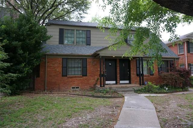 3932 Buena Vista Street, Dallas, TX 75204 (MLS #14529212) :: Craig Properties Group