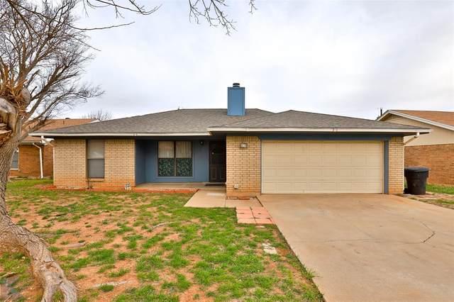 950 Presidio Drive, Abilene, TX 79605 (MLS #14529818) :: The Chad Smith Team