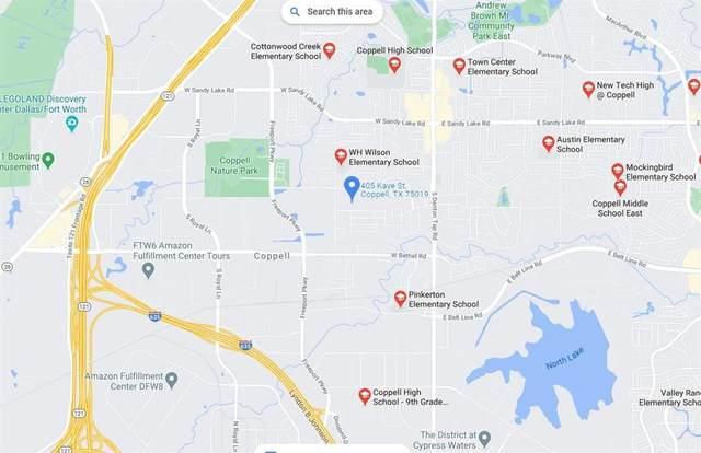 405 Kaye Street, Coppell, TX 75019 (MLS #14530055) :: Team Tiller